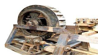 bricks making machine with conveyor belts