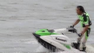 Kawasaki Jet Ski 800 SX-R : Air Turn + LogRoll by Hiroyuki OGINO