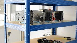 Como montar un rig de minería de criptomonedas - Montaje físico