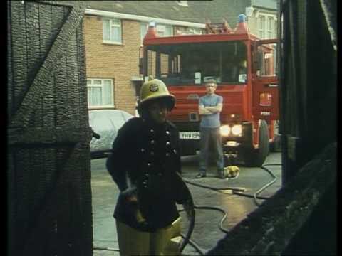 London S Burning Paint Factory Fire