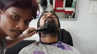 ASMR master cracker beard trim - must watch