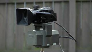 Remote operated HD video camera demonstration