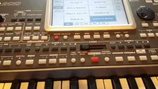 Korg PA900 Ethnic Indian Sounds Edited