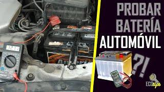 Cómo probar la batería de un auto con un  multímetro (teoría y práctica)