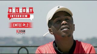 #BalconyInterview (2/3): Emtee On Falling Off, Being Faithful & His Rough Past #DIY2