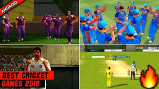 🔥Top-5 BEST High Realistic Cricket Games For Android [2019] with Unique Features | Must Watch