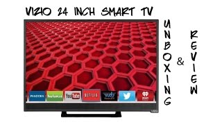 VIZIO 24 inch LED TV - Unboxing and Review