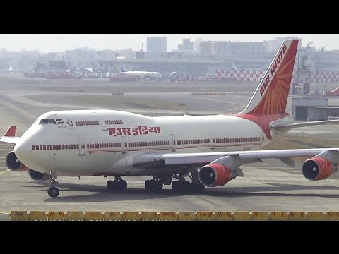Just watch this Air India Boeing 747 400 Take off