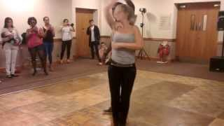 Sara Lopez & Enah Lebon at UK Summer Salsa Festival