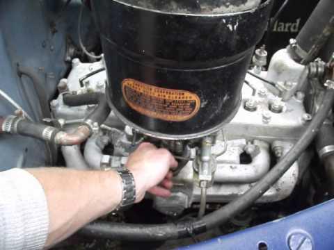 reglage carburateur stromberg bxv-3 dodge coupé 1941 part 2