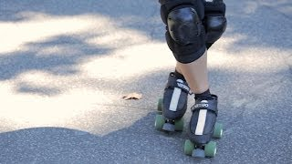 How to Do a Crossover   Roller-Skate