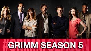 Grimm Season 5 Interviews - Sasha Roiz, Claire Coffee, David Giuntoli, Bree Turner, Reggie Lee