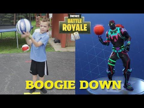 Twin vs Twin:  Fortnite Dance Challenge In Real Life 4
