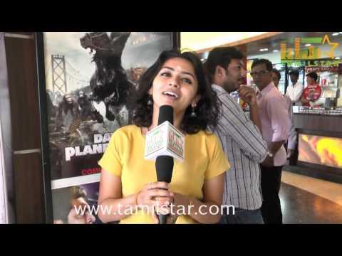 Singer Malavika at Puthiyathor Ulagam Seivom Audio Launch
