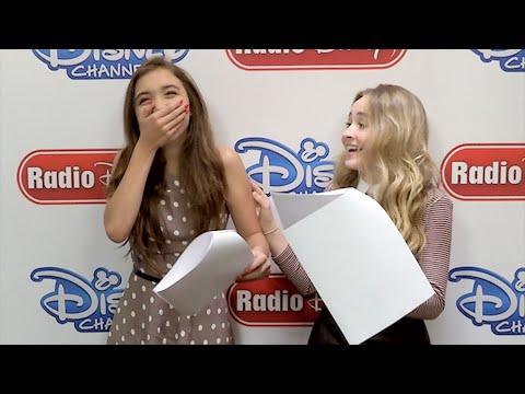 Rowan Blanchard and Sabrina Carpenter Girl Meets World Switch | Radio Disney Insider | Radio Disney