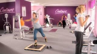 kruhový trénink pro ženy Contours fitness