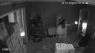 Brave Woman Fires Gun at Three Armed Burglars Who Entered Her Home