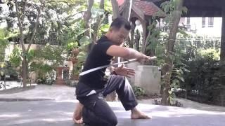 Krabi Krabong Thai Sword Lotus Shape - Kru Praeng