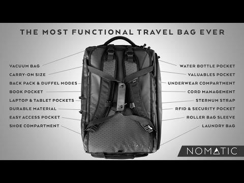 The NOMATIC Travel Bag