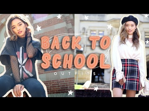 Back To College Outfits | Monday Through Friday