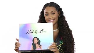 Lira Galore Introduces Laid By Lira Hair Care Line and Unboxes Laid Edges Kit