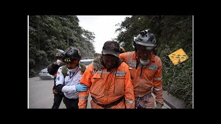 Guatemala volcano eruption update: Fuego ERUPTS again as rescue workers scramble for cover