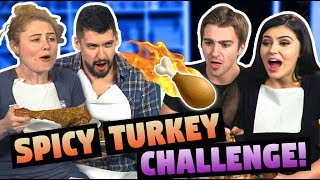 SPICY THANKSGIVING TURKEY CHALLENGE!