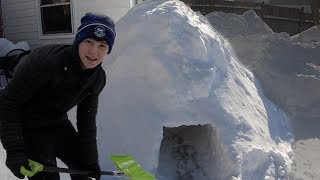 Last to Leave the Igloo Wins | That