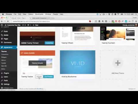 Customize Your WordPress Theme the RIGHT Way - YouTube Alternative Videos Watch & Download