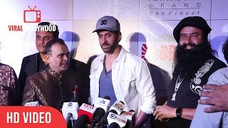 Gurmeet Ram Rahim Singh With Hrithik Roshan At 3rd Bright Awards 2017   Viralbollywood