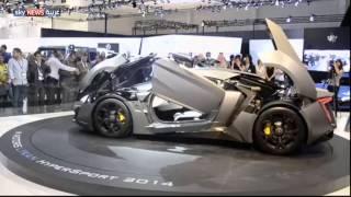 دبي.. أحدث سيارات العالم