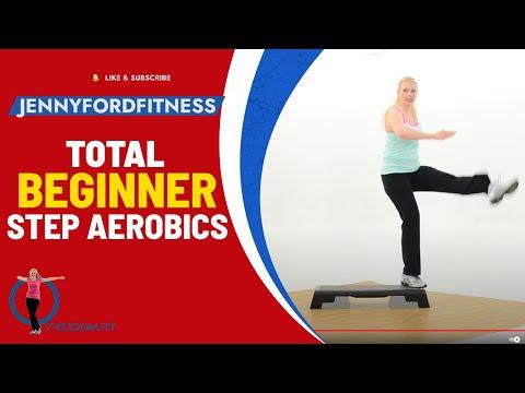 Beginner Step Aerobics Fitness Cardio JENNY FORD