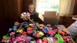 12-Year-Old Girl With Cancer Collects Thousands of Socks for Hospital Patients