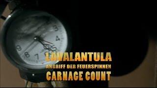 Lavalantula (2015) Carnage Count