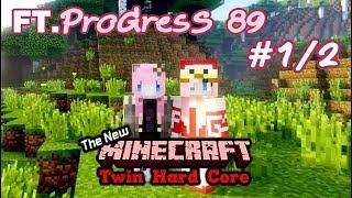 [ Minecraft NTH. ] เปิดมิติใหม่ของการ ทวินฮาทคอ!! (Ft. ProGresS 89) # 1/2