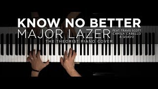 Major Lazer - Know No Better ft. Travis Scott, Camila Cabello & Quavo | The Theorist Piano Cover