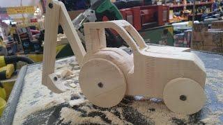 Деревянный Двигатель, механизм сделан своими руками! - PlayTube