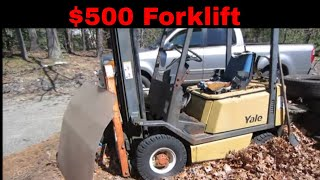 Will It Run? cheapest Forklift I could find.