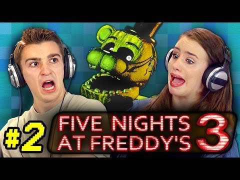 FIVE NIGHTS AT FREDDY S 3 2 React Gaming