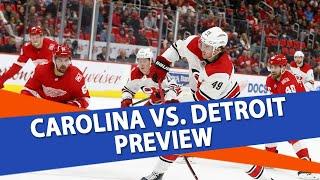 Carolina vs. Detroit | Ice Guys | Free NHL Pick