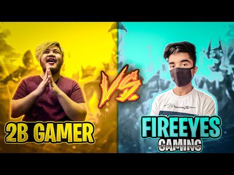 2B Gamer VS FireEyes Gaming🔥 Best Clash Battle Who will Win Garena Free Fire