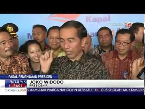 Presiden Jokowi: Kalau Mau, Yang Menghina Bisa Saja Saya Pidanakan!