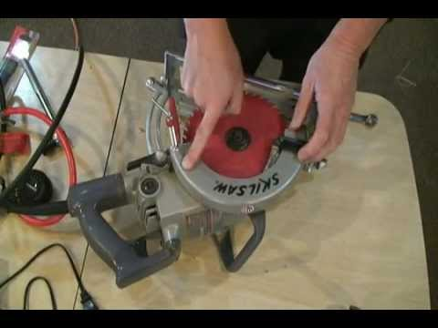 Skil HD77 Blade Replacement.wmv
