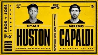 Nyjah Huston Vs Mike Mo Capaldi: BATB7 - Round 2