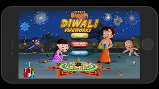 Chhota Bheem Fireworks Game on Android & iTunes