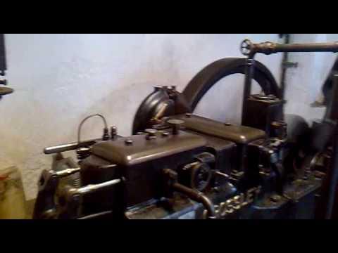 Motor Crossley de 1929 Molino de los Peinados