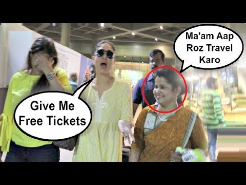 Xxx Mp4 Kareena Kapoor Funny Moment With Female Airport Staff Member 3gp Sex