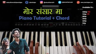 Mor Sansaar Ma Chhattisgarhi Cg Piano/Casio Tutorial With Chord - Ankush Harmukh
