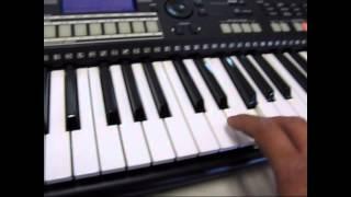 Yamaha PSR S550 61 Key Arranger Workstation Keyboard