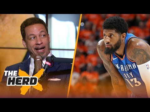 Xxx Mp4 Chris Broussard On Paul George Leaving OKC To Potentially Join LeBron On Lakers NBA THE HERD 3gp Sex